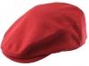 Hawkins Wool Flat Cap in Red