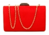 Papaya Fashion Clutch Box Bag in Red