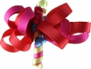 Ribbon Loops Hair Accessory in Red