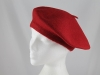 Wool Beret in Red