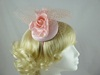Rose Headpiece in Dusky Pink