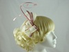 Twist and Quill Fascinator in Rose & Ivory