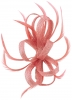 Elegance Collection Sinamay Loops Clip in Rose