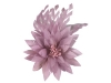 Failsworth Millinery Feather Flower Fascinator in Rose
