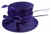 Failsworth Millinery Bow Wedding Hat in Royal Blue