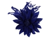 Failsworth Millinery Feather Flower Fascinator in Royal Blue