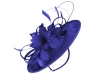 Failsworth Millinery Shaped Disc in Royal Blue