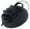 Failsworth Millinery Wool Felt Pillbox in Royal Blue