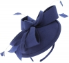 Failsworth Millinery Wool Felt Disc Headpiece in Royal Blue