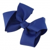 Molly and Rose Hair Bow in Royal Blue