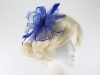 Molly and Rose Two Tone Fascinator in Royal Blue