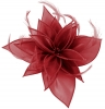 Failsworth Millinery Organza Leaves Fascinator in Rumba