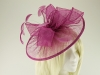 Failsworth Millinery Sinamay Disc Headpiece in Rumba