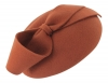 Failsworth Millinery Wool Felt Pillbox in Rust