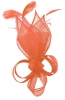Max and Ellie Lily Comb Fascinator in Salmon