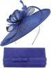Max and Ellie Occasion Disc with Matching Occasion Bag in Sapphire
