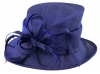 Max and Ellie Occasion Hat in Sapphire