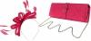 Failsworth Millinery Sinamay Loops Fascinator with Matching Sinamay Bag in Fandango