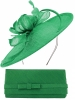 Max and Ellie Occasion Disc with Matching Occasion Bag in Emerald