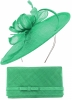 Max and Ellie Occasion Disc with Matching Large Occasion Bag in Jade