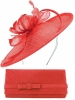 Max and Ellie Occasion Disc with Matching Occasion Bag in Poppy