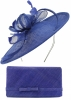 Max and Ellie Occasion Disc with Matching Large Occasion Bag in Sapphire