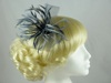 Biots and Beads Fascinator in Silver