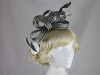 Hawkins Collection Two Tone Loops Headpiece in Silver & Pewter
