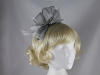 Elegance Collection Diamante and Loops Fascinator