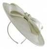 Failsworth Millinery Bow Disc in Silver