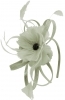 Failsworth Millinery Flower Fascinator in Silver