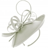 Failsworth Millinery Silk Disc in Silver