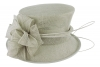 Failsworth Millinery Wedding Hat in Silver