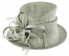 Max and Ellie Occasion Hat in Silver