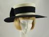 Simon Ellis Navy and Cream Formal Hat