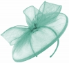 Failsworth Millinery Sinamay Disc in Sky