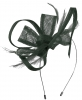 Max and Ellie Flower Fascinator in Slate
