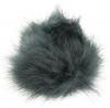 Zelly Detachable Bobble Pom Pom in Slate
