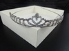 Tiara with Heart Diamante