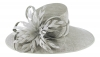 Failsworth Millinery Ascot Hat in Steel