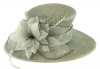 Failsworth Millinery Occasion Hat in Steel