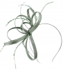 Failsworth Millinery Sinamay Loops Fascinator in Steel