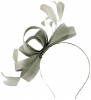 Failsworth Millinery Wide Loops Fascinator in Steel