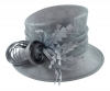 Hawkins Collection Nested Loops Occasion Hat in Steel