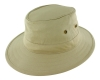 Failsworth Millinery Traveller Cotton Hat in Stone