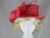 Hawkins Collection Quills Occasion Hat in Strawberry