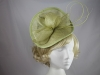 Failsworth Millinery Shaped Disc in Sunny Lime