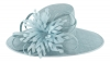 Failsworth Millinery Ascot Hat in Surf