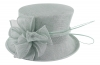Failsworth Millinery Wedding Hat in Surf