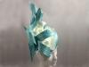 Suzie Mahony Designs Aqua Silk Orchid Hat